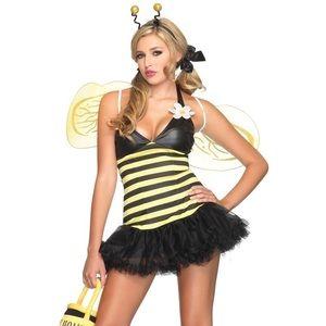 Honey Bee Fancy Dress Sexy Halloween Costume